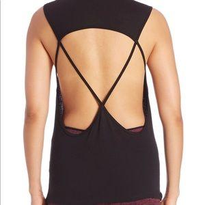 KORAL Aura back cut-out activewear yoga tank S